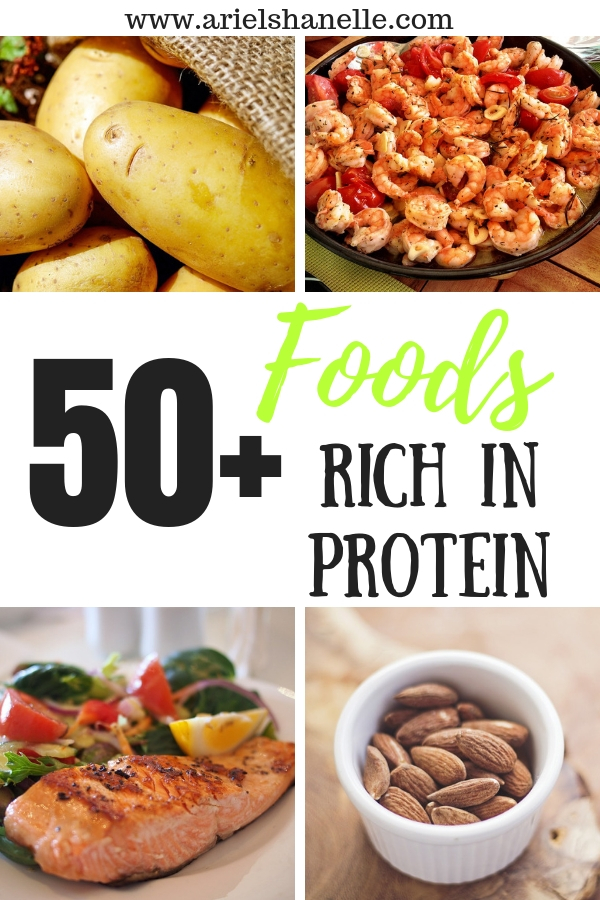 foods rich in protein pinterest pin
