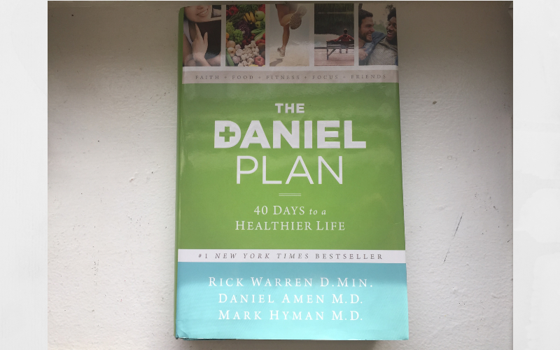 The Daniel plan changed my life.